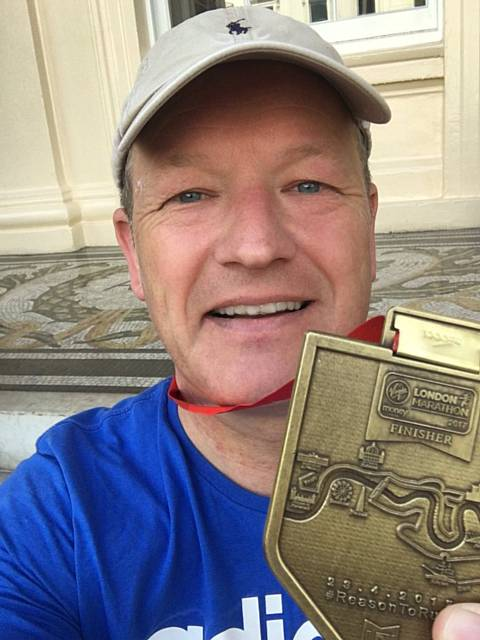 Simon Danczuk MP London Marathon