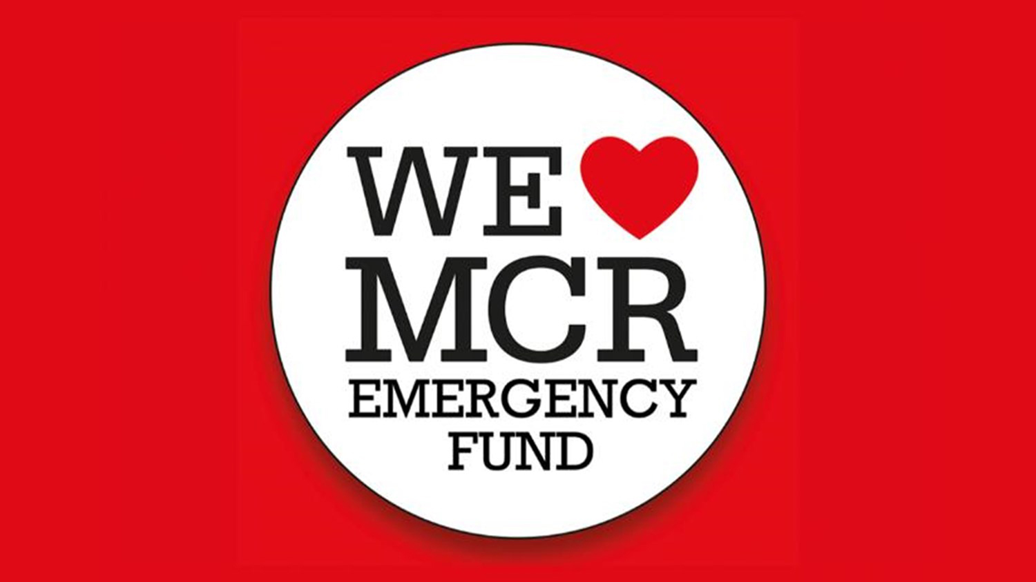 We Love Manchester Emergency Fund Logo