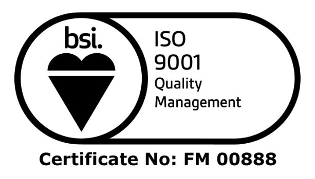 Hanson Springs ISO 9001 accreditation